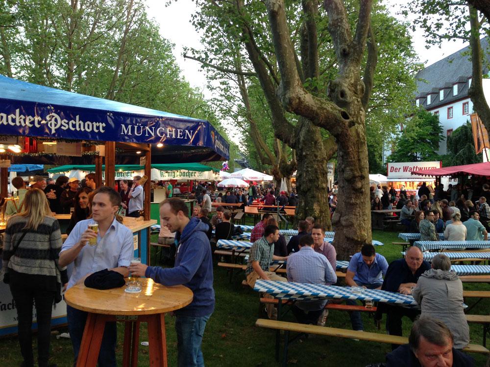 Koblenzer Bierbörse | Rheinpromenade am Deutschen Eck