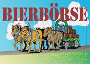 Das logo der Bierbörse